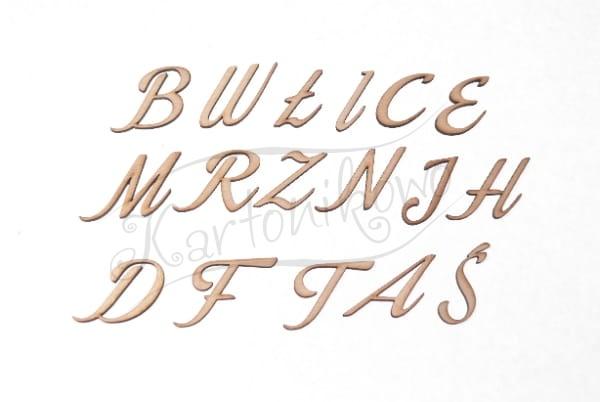 Literki Litery Litera Literka Cyfra Cyferka Ozdobna Do Napisów Do